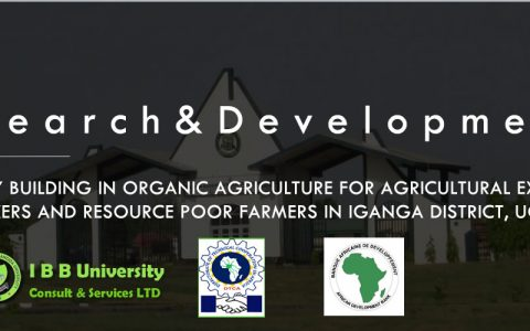 Capacity Building In Organic Agriculture For Agricultural Extension Workers And Resource Poor Farmers In Iganga District, Uganda